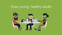 Did you know? That anyone even young, healthy adults can get sick from the flu and spread it to others.
