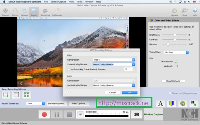 keygen debut video capture software