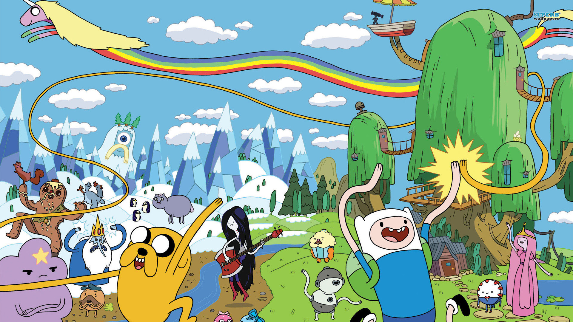Adventure Time Wallpapers For Desktop 55 Images