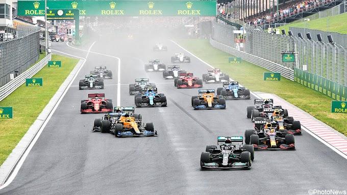 Verstappen wordt weer gedwarsboomd door Mercedes, Hamilton is duizelig na ceremonie