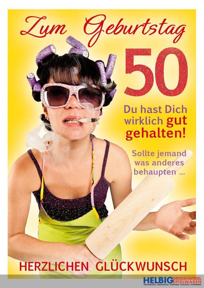 Glückwünsche Geburtstag 50