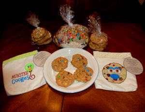 It's In the Bag- Monster Cookie Set