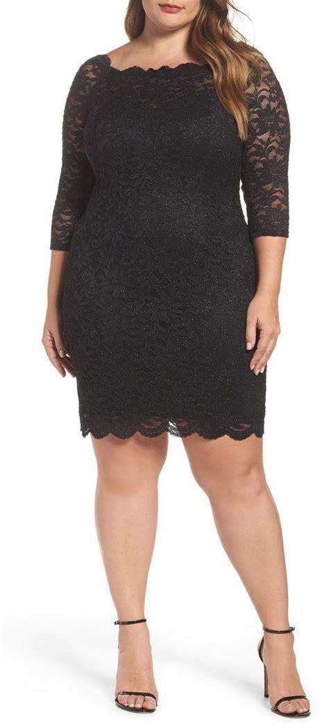 plus size wedding guest dress sleeves alexa webb 118 19