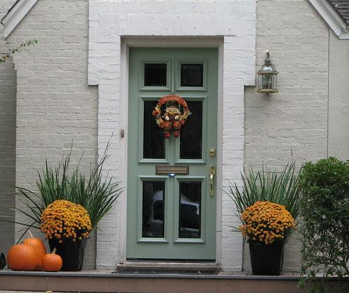 Welcome Autumn Door