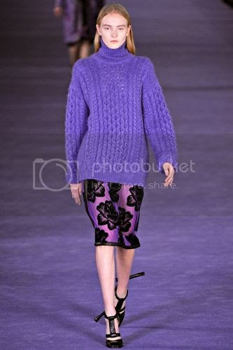 Christopher Kane fall winter 2012 runway collection