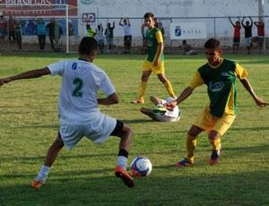 Final da Copa Nossa Cidade Sub-15 no campo de Dix-Sept Rosado (Foto: Marco Polo/Divulgação)