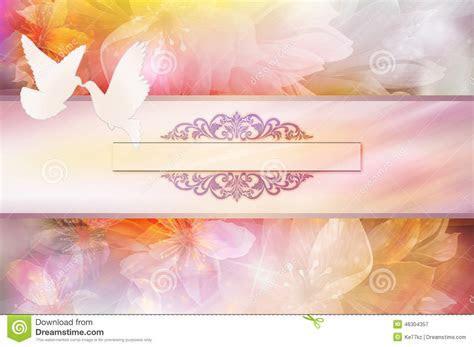 Wedding Invitation Template. Stock Illustration