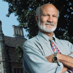 Duke University Divinity School theologian Stanley Hauerwas is often considered America's most important Protestant theologian. Photo courtesy Duke University