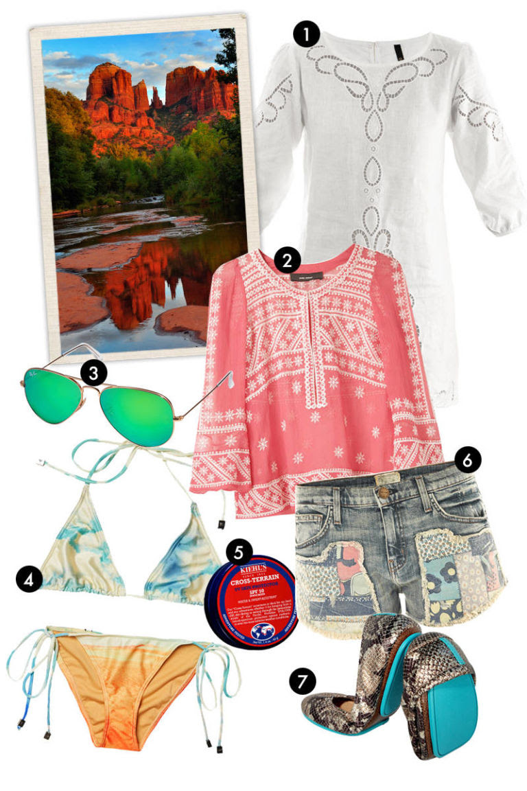 Vacation Outfit Ideas - Vacation Packing List