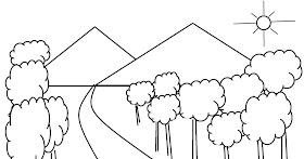 Gambar Pemandangan Gunung Yang Gampang