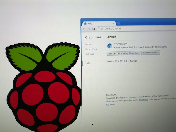 Chromium browser for Raspberry Pi beta available