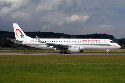 Royal Air Maroc (Denim Air) Embraer ERJ 190-100 IGW PH-DNA (msn 19000372) ZRH (Rolf Wallner). Image: 913091.