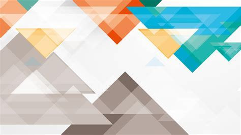 Pola segitiga putih biru merah   wallpaper.sc Desktop