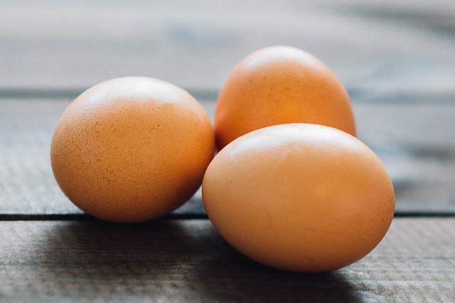 Ovo, rico em proteínas e vitaminas