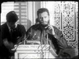 20 de abril. Fidel Castro ofrece una conferencia en el National Press Club, de Washington DC.