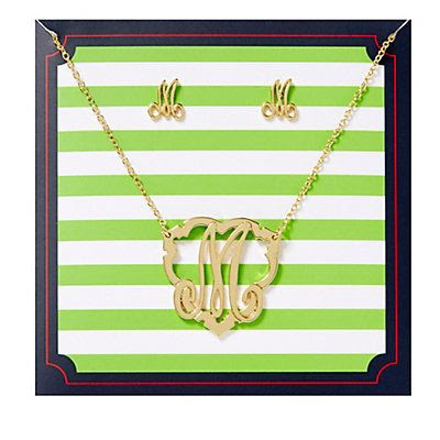 Love this Initial Here Monogram Gift Box for $48 on C. Wonder