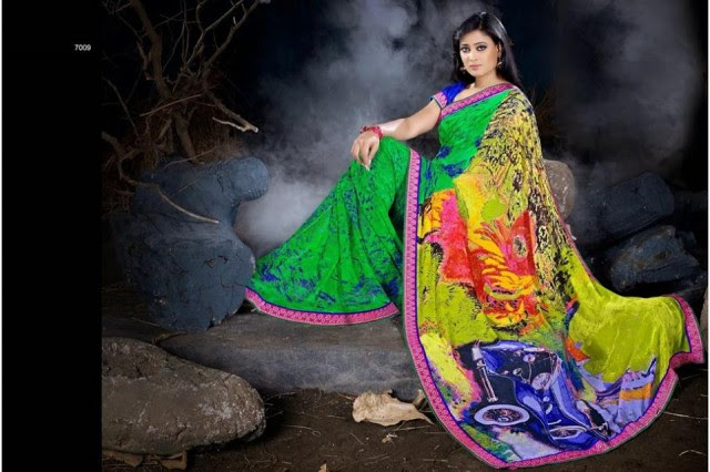 Womens-Girl-Wear-Beautiful-Sari-New-Fashion-Color-Printed-Saris-by-Prerna-Poly-Georgette-Sarees-2