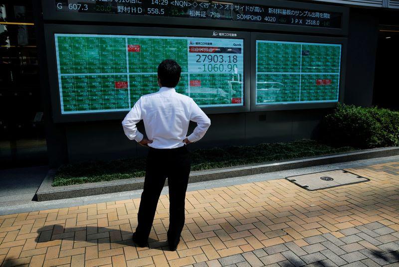 Stocks shrug off virus worries; ECB in focus By Reuters