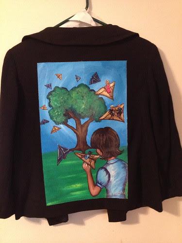 """""""Return Flight"""" a jacket for Karin Jay"""