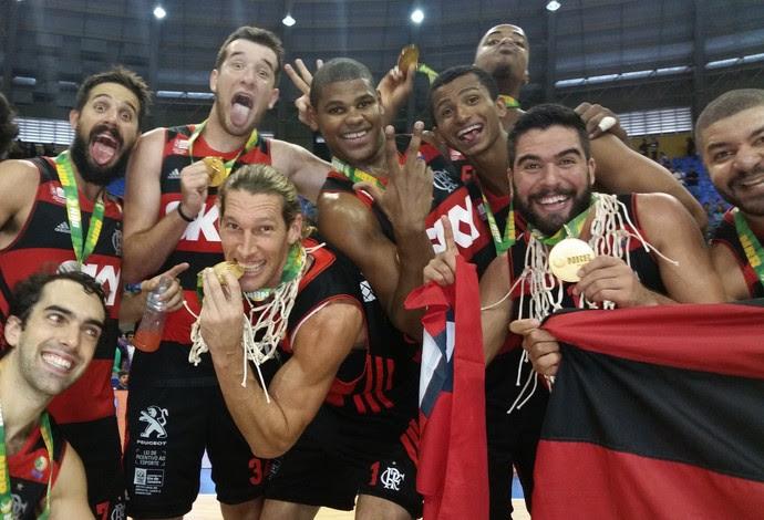 Flamengo é tetracampeão do NBB