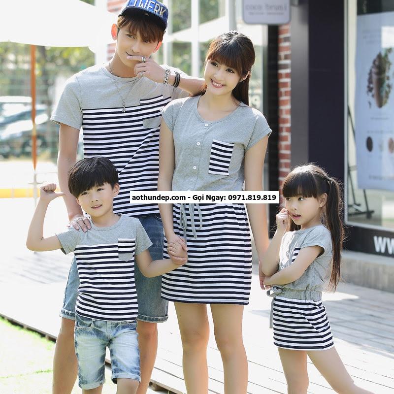 đồng phục gia đình mùa hè