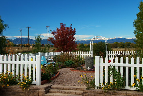 A perfect fall day in the garden by D.Broberg