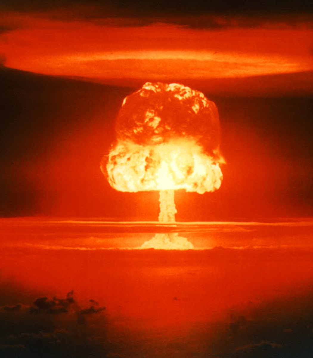 Whenever one thinks of the next big global war, this is what comes to mind.