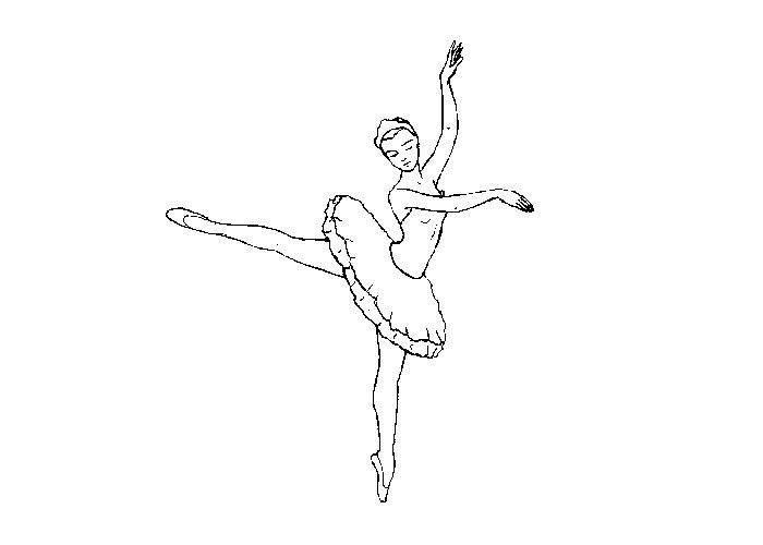 Free Ballet Coloring Pages To Print - Coloring And Drawing