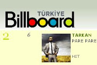 Pare Pare has reached the number two spot in the Turkish Billboard Turkish Top Twenty