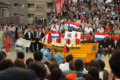 長崎くんち2012・江戸町・阿蘭陀船