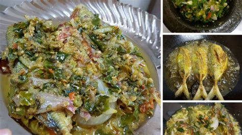 resepi ikan selar masak rendang padang menu bajet guna