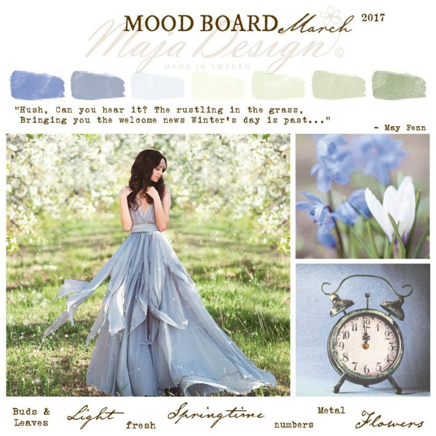 MajaDesign Mood Board March 2017
