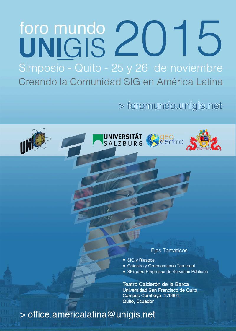 Foro Mundo UNIGIS 2015