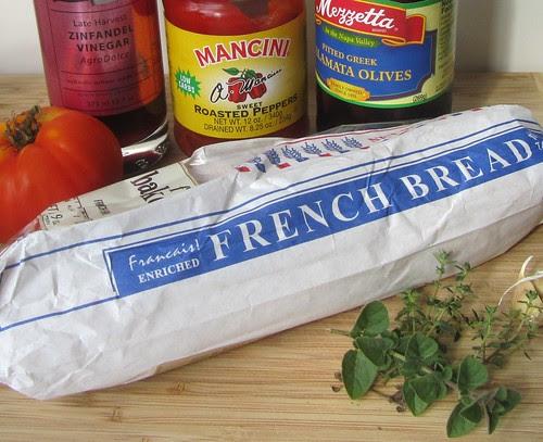 Panzanella Ingredients