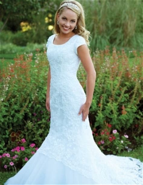 Mormon Wedding Dresses
