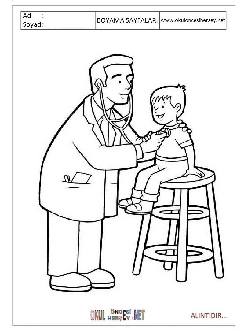 Doktor Boyama Sayfaları