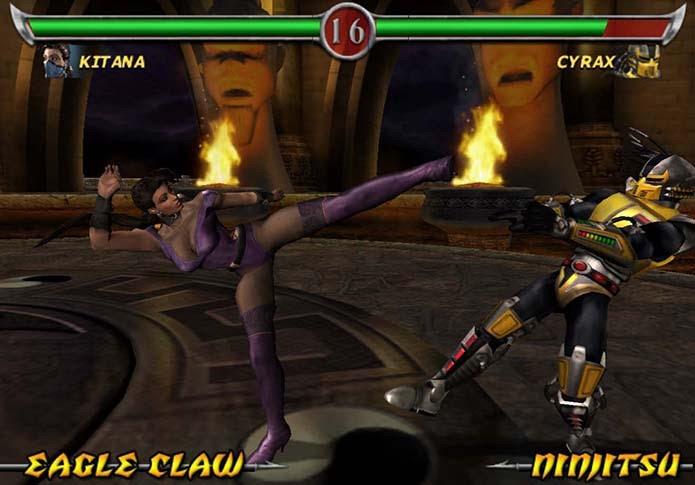 Deadly Alliance contava com belos gráficos e novidades (Foto: Reprodução)