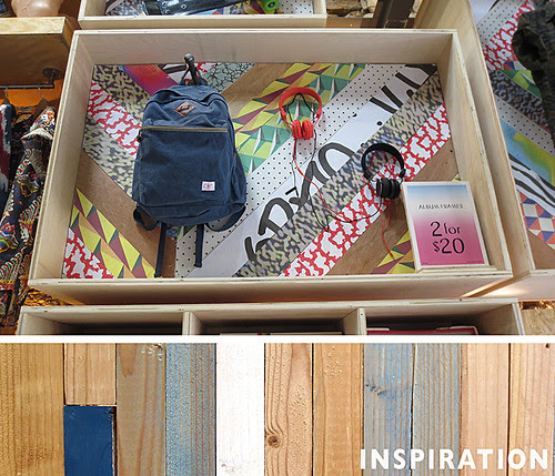 inspiration: Urban Outfitters Display