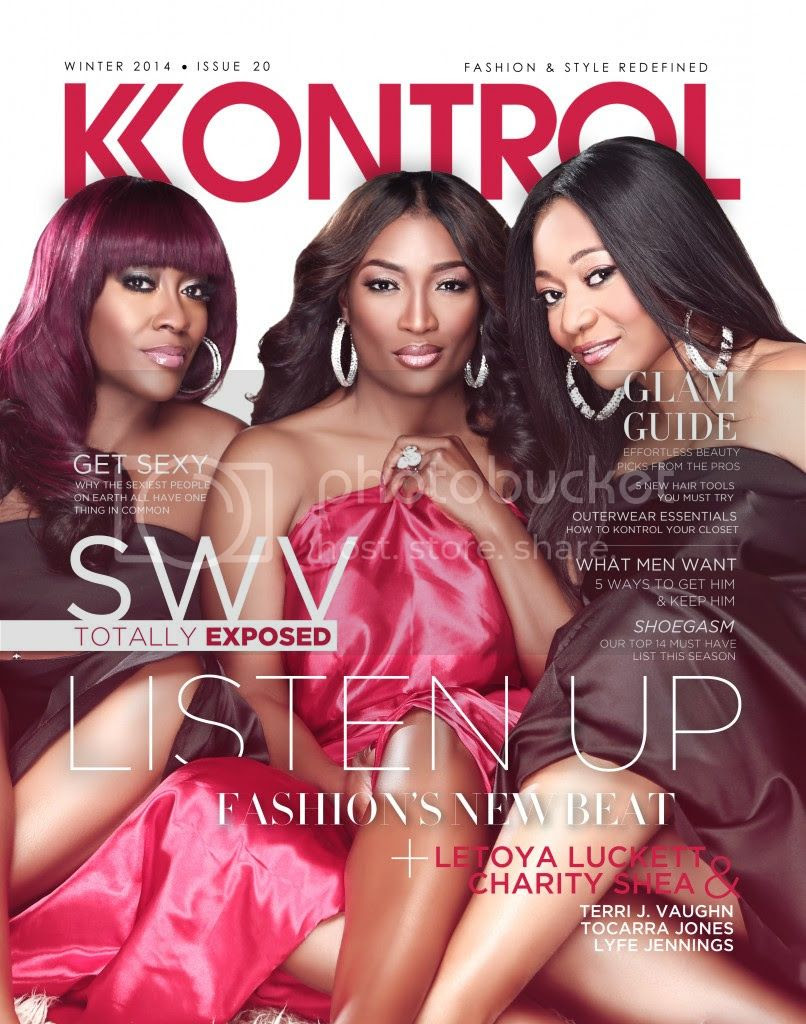 SWV's 'Kontrol' cover...