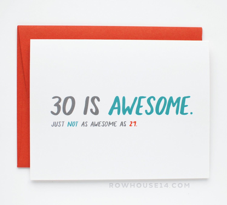Funny 30th birthday | Etsy