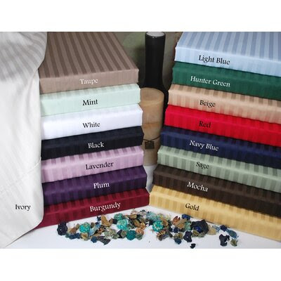 White Striped Sheet Set | Wayfair