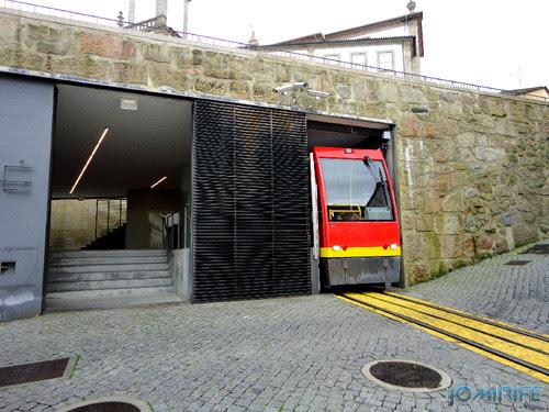 Viseu (23) Funicular - Estação [en] Viseu - Electric train