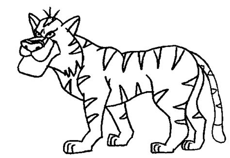 jungle animals coloring pages coloringpagesabccom