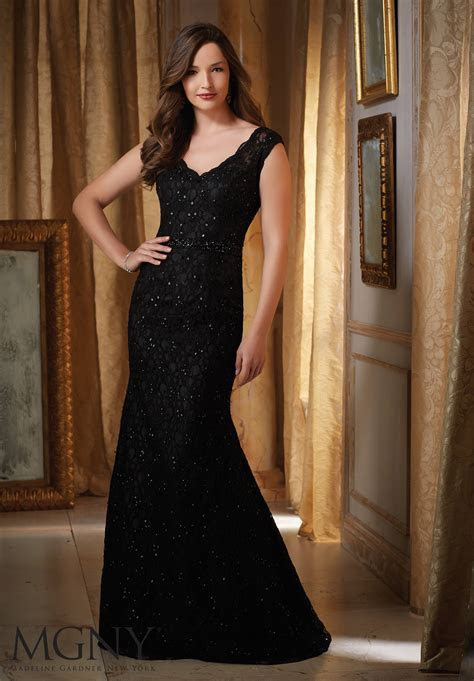 Beaded Lace Evening Dress   Style 71419   Morilee