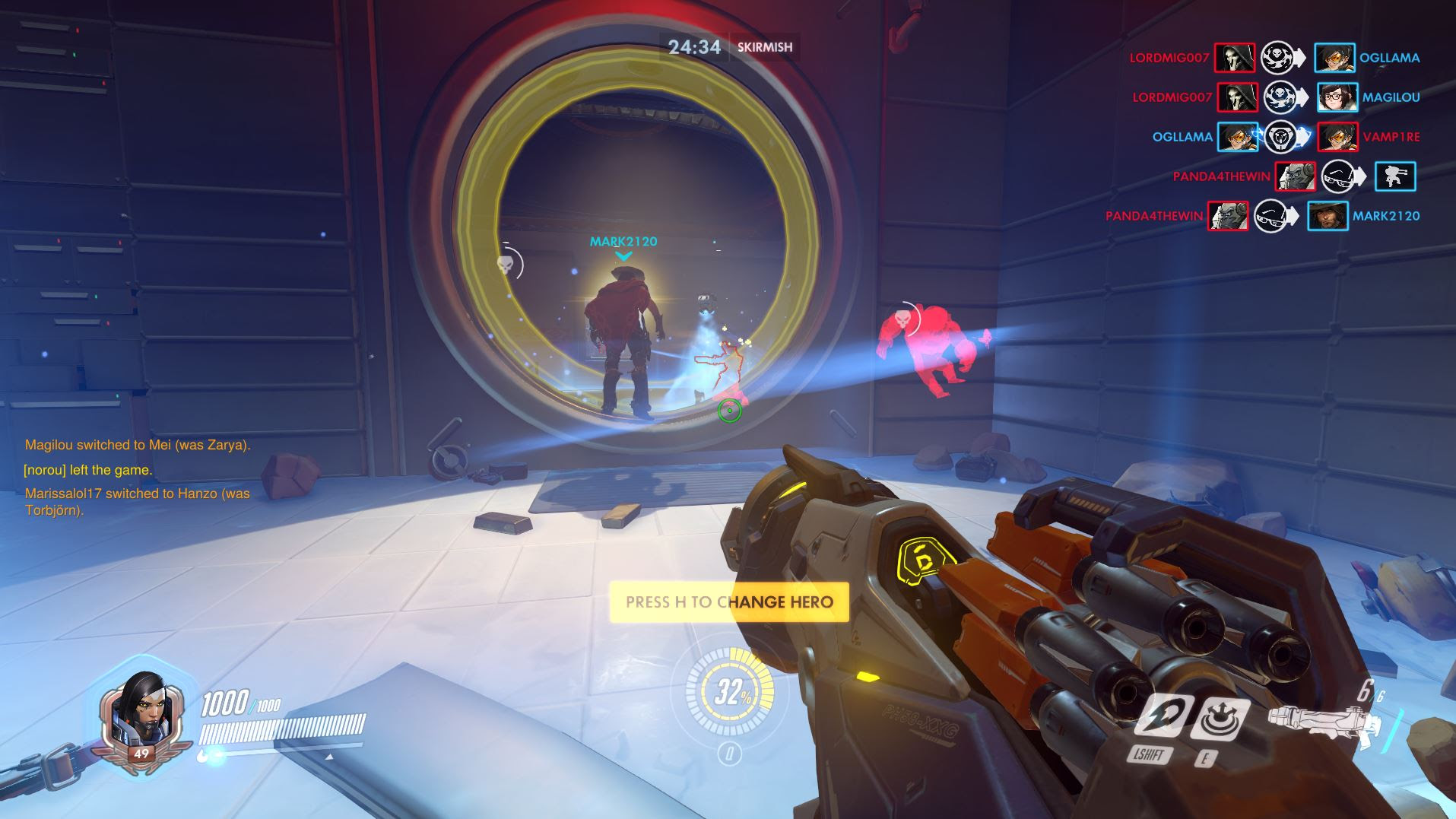 Overwatch will ban you if you use custom games to farm