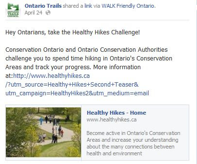 healthy hikes challenge