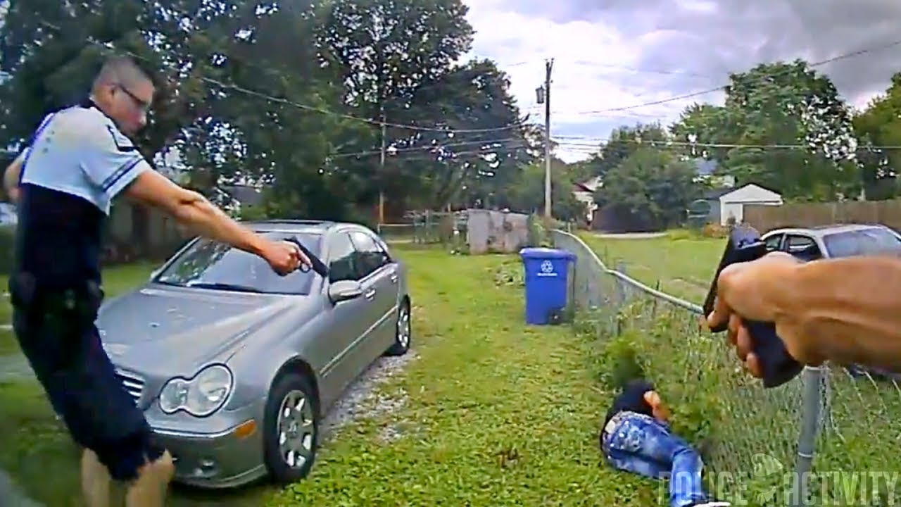 Bodycam Captures Police Shootout With Armed Man at Hospital in Columbus, Ohio - Columbus police shooting