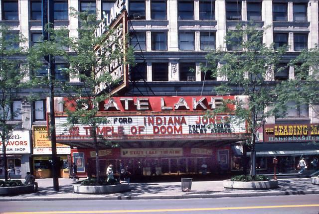 State Lake Theatre In Chicago Il Cinema Treasures