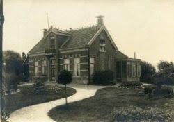 Nieuwe Zeeweg 17, destijds bewoond door fam. Van Zandvoort