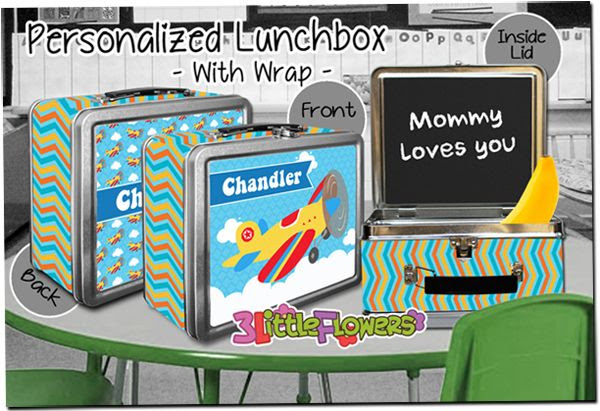Personalized Lunchboxes